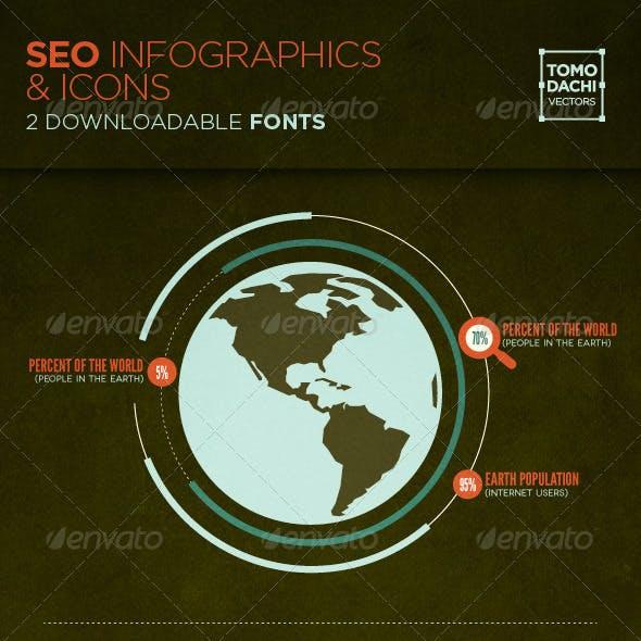 SEO Infographics & Icons
