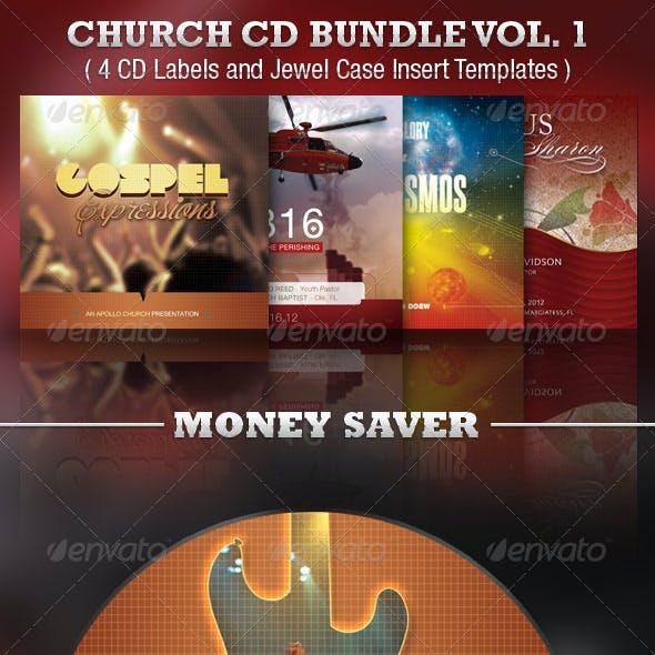 Church CD Template Bundle Vol 1