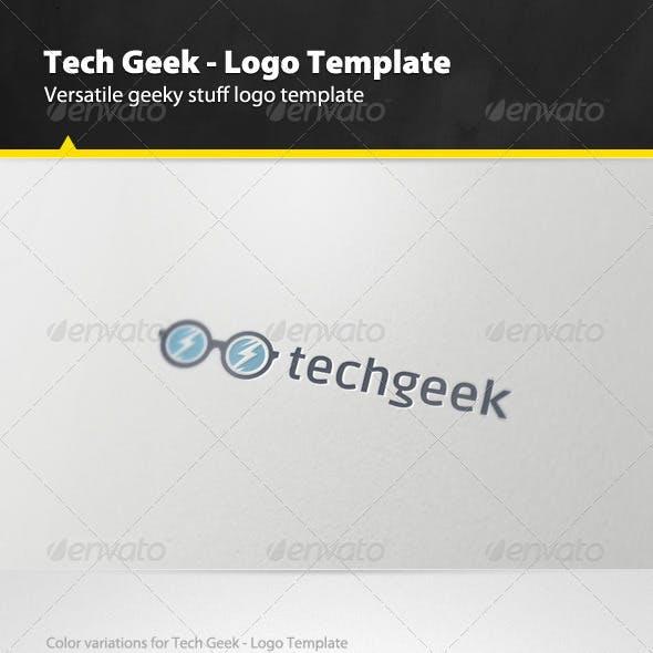 Tech Geek - Logo Template