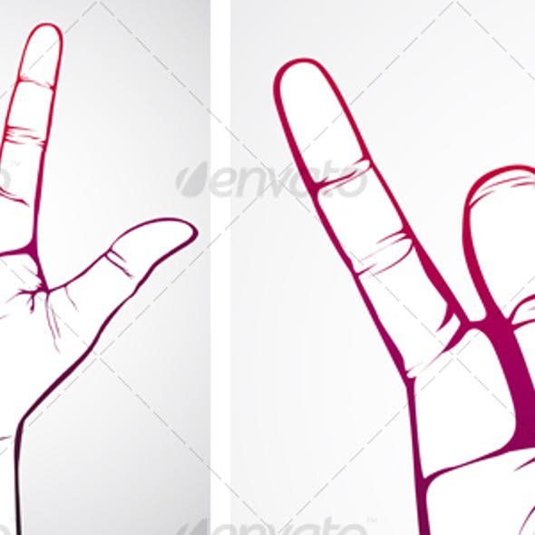 Hand in Rock Sign