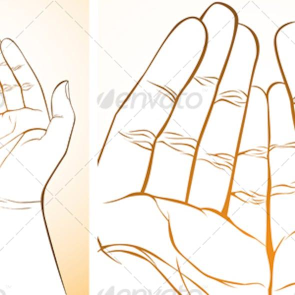 Hand Upward