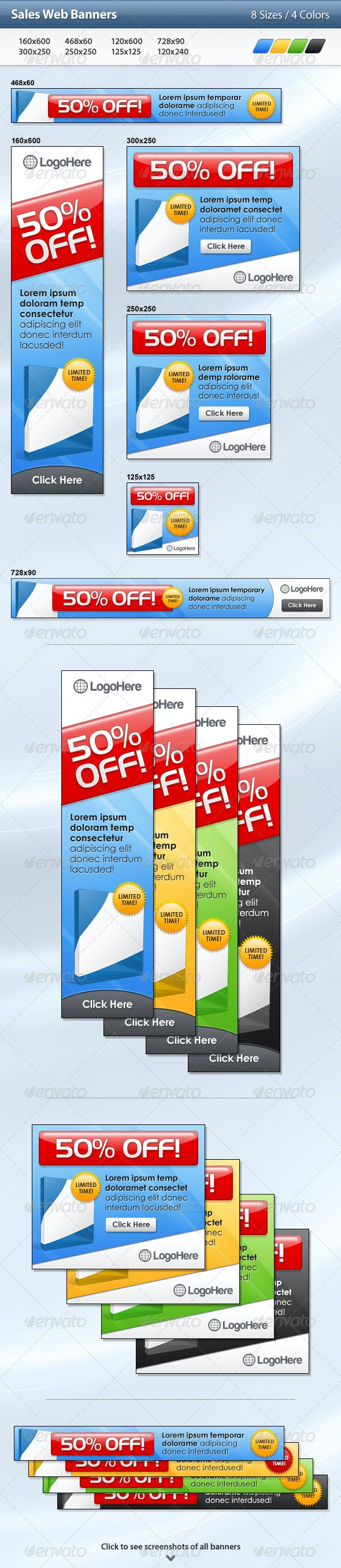 Sales Web Banners