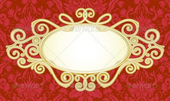 Titling frame - Borders Decorative