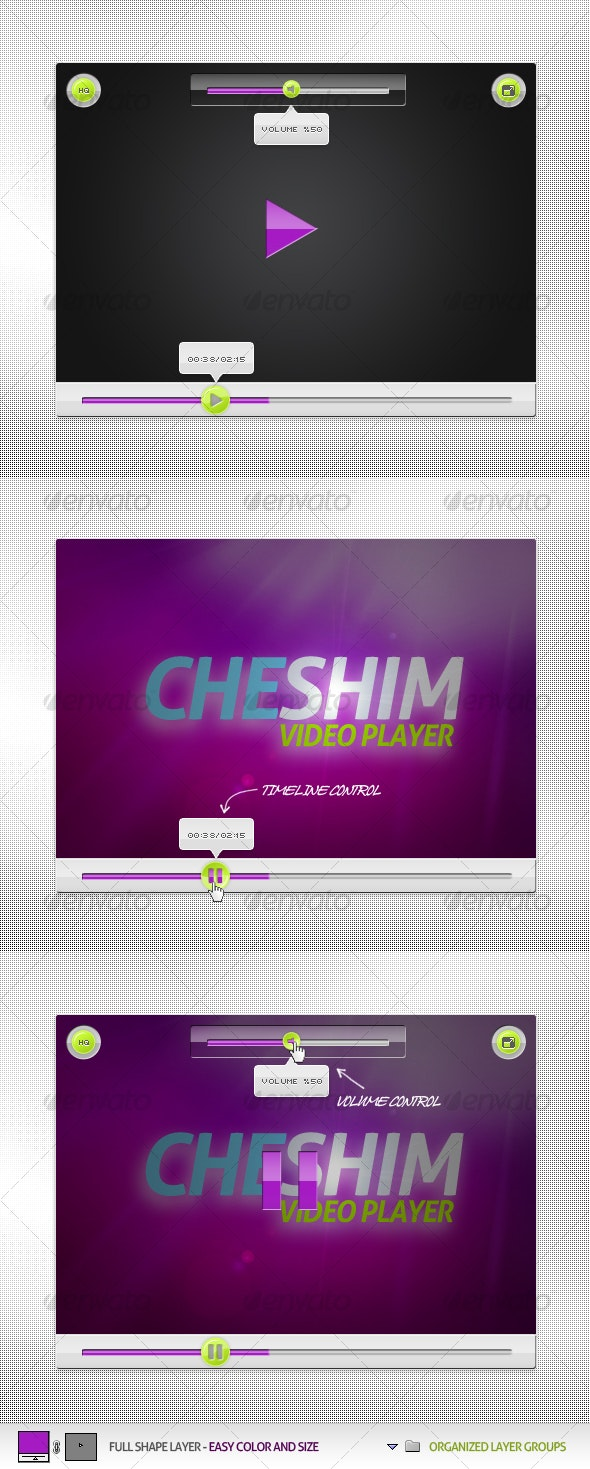 Cheshim Video Player - Miscellaneous Web Elements