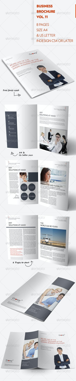 Business Brochure Vol. 11 - Brochures Print Templates