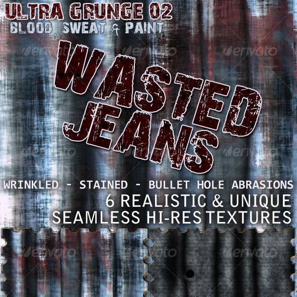 Ultra Grunge Wasted Jeans