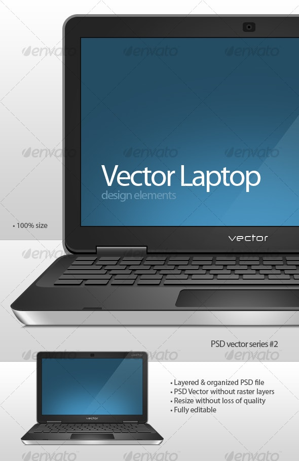Vector Laptop - Miscellaneous Web Elements