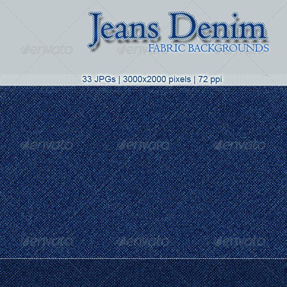 33 Jeans Denim Fabric Backgrounds