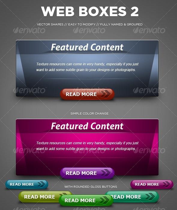 Web Boxes - Miscellaneous Web Elements
