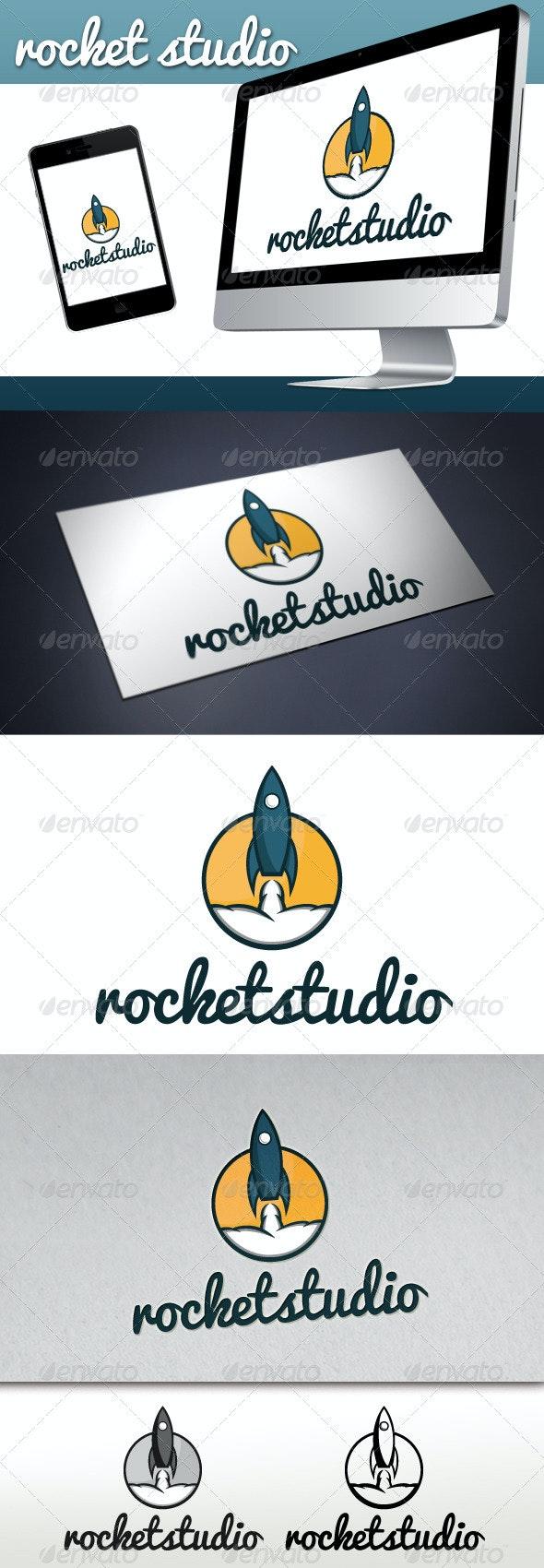 Rocket Studio Logo - Objects Logo Templates