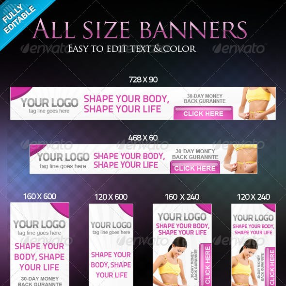 All Standards Size Banners