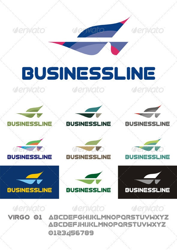 BusinessLine Logo - Abstract Logo Templates