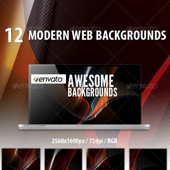 12 Web Backgrounds