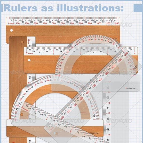 Virtual Rulers