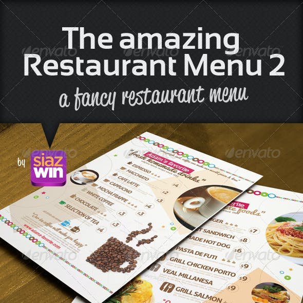 The Restaurant Menu 2