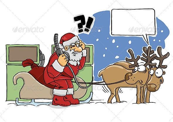 Santa - Characters Vectors