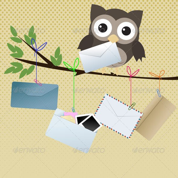 "Owl ""You Got Mail"""