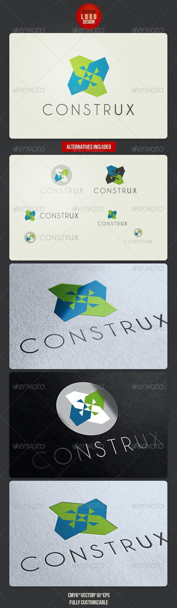 Clean Geometric Logo - Symbols Logo Templates