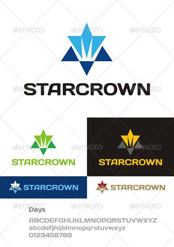 StarCrown Logo - Symbols Logo Templates