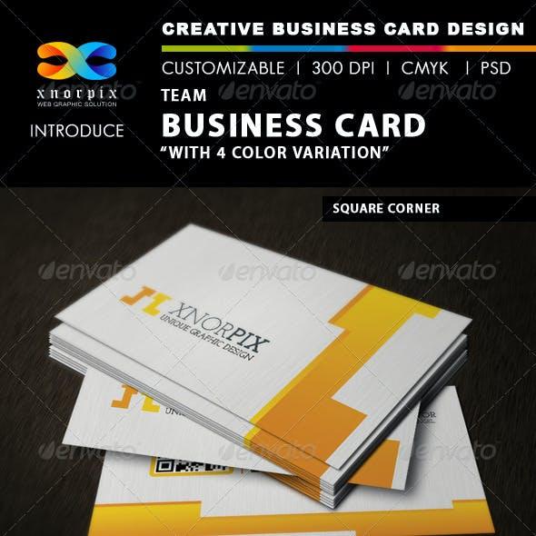 Team Business Card