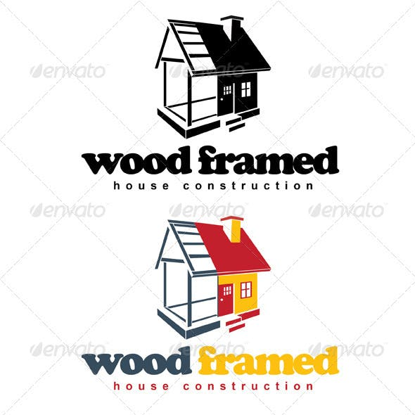 Wood Framed House Construction