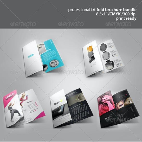 Tri-Fold Brochure Bundle 1