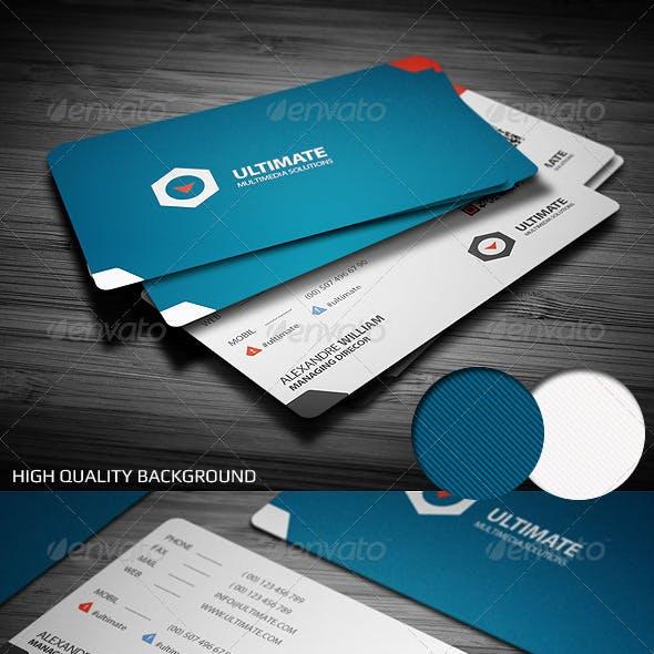 Class Corporate Business Card
