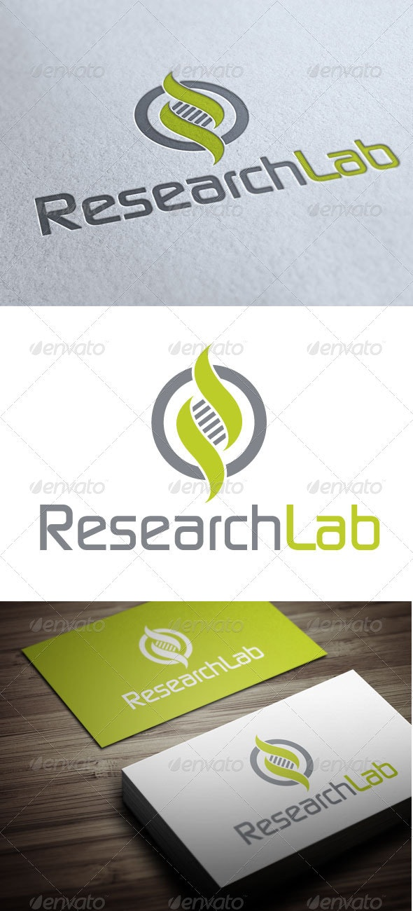 Research Lab - Symbols Logo Templates