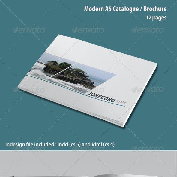 Modern A5 Catalogue / Brochure