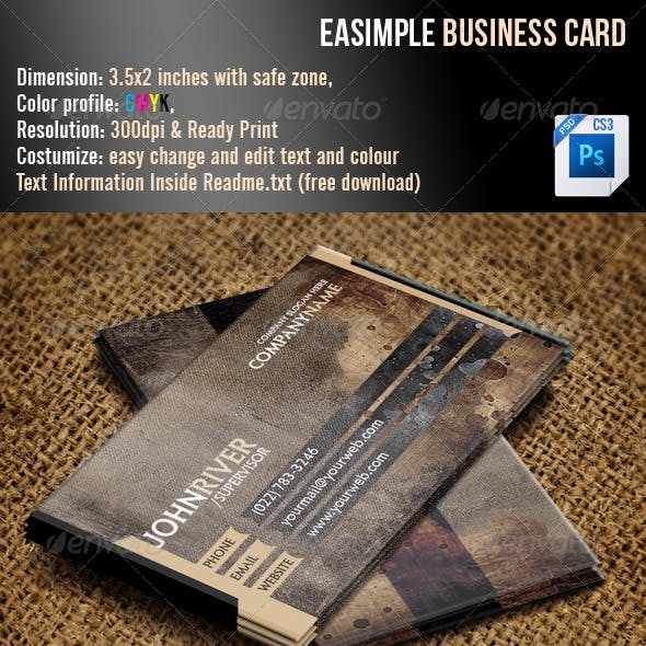 Easimple Business Card