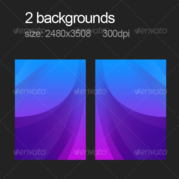 2 purple backgrounds