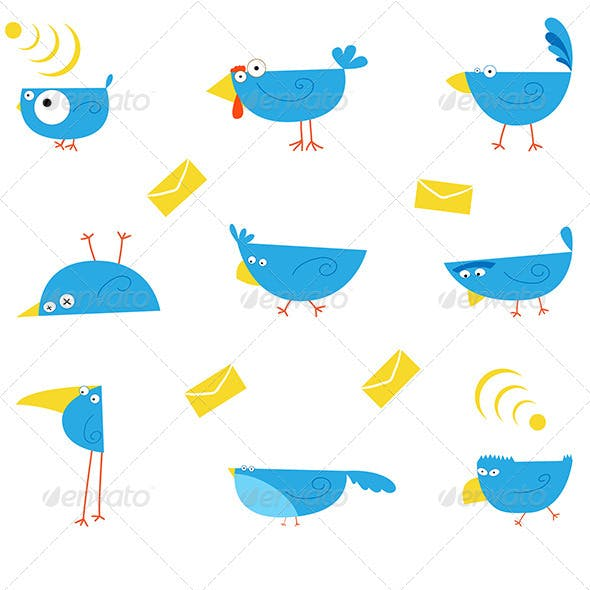 9 Birds Icon