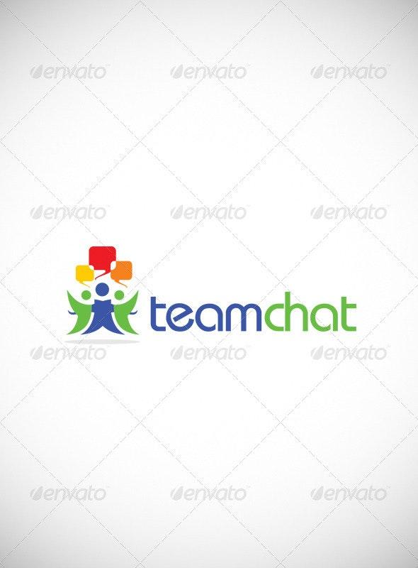 Team Chat Logo Templates - Symbols Logo Templates