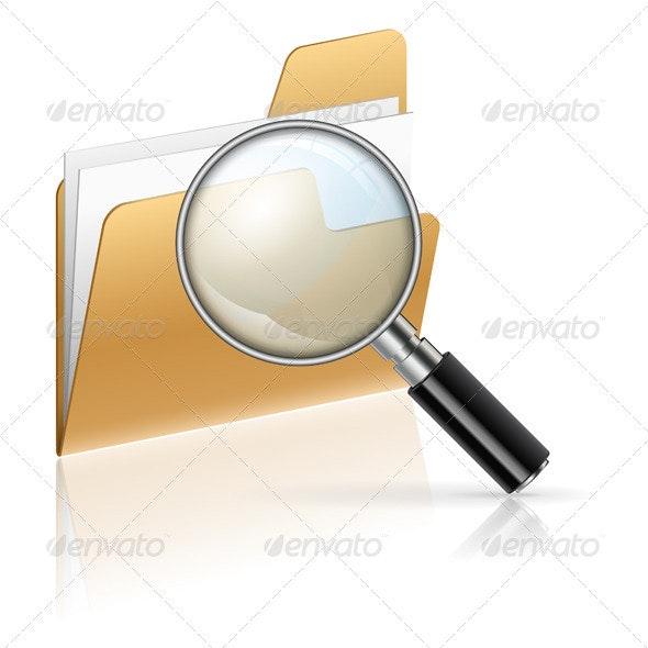 Search Concept - Web Elements Vectors