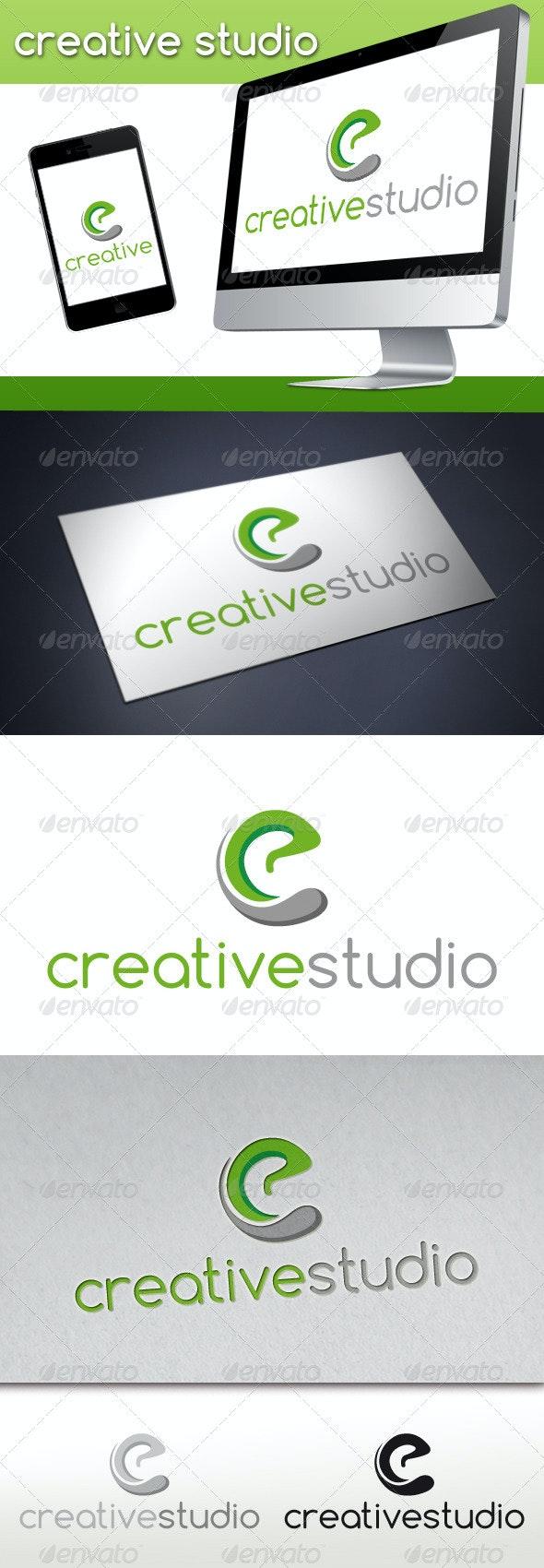 Letter C Creative Studio Logo - Letters Logo Templates