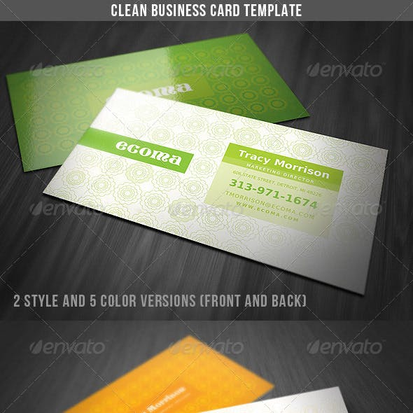Clean & Classy Business Card
