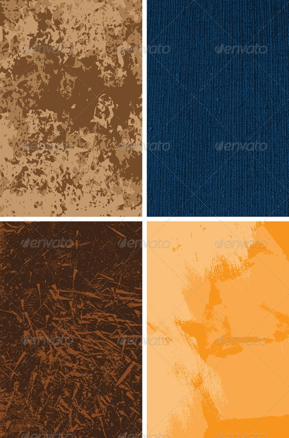 Set of vector backgrounds - Backgrounds Decorative
