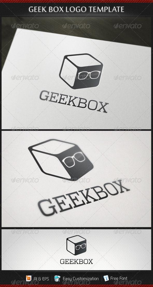 Geek Box Logo Template - Objects Logo Templates