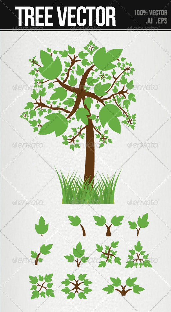 Tree Vector - Nature Conceptual