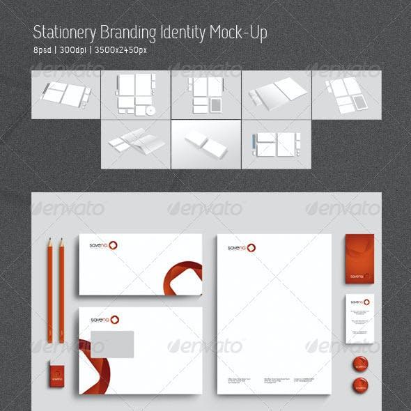 Stationery Branding Identity Mock-Up