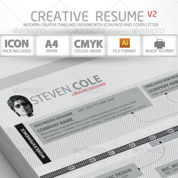 Creative Resume Advance