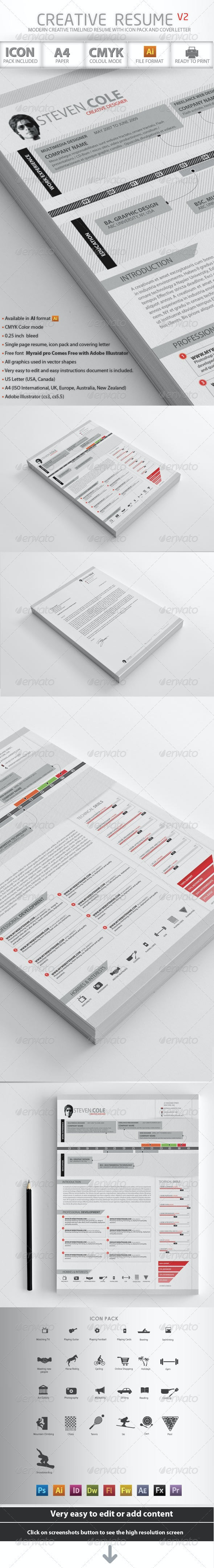 Creative Resume Advance - Resumes Stationery
