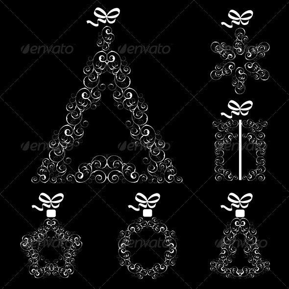 Collection of Christmas items - Christmas Seasons/Holidays