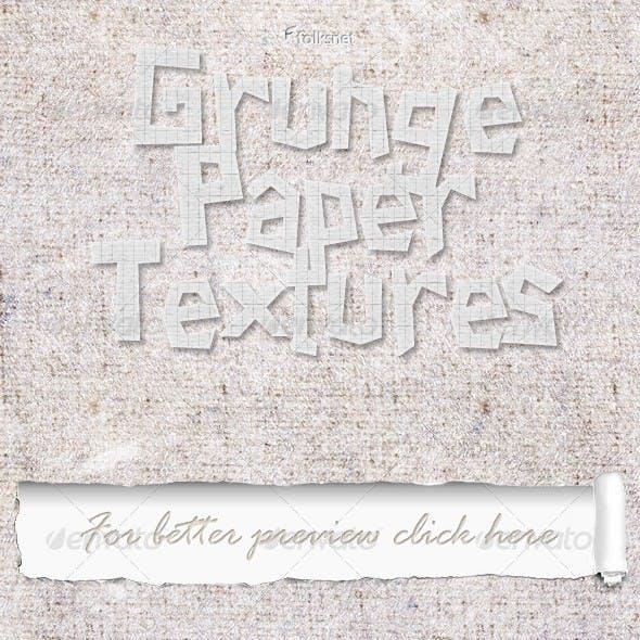 Grunge Paper Set 1