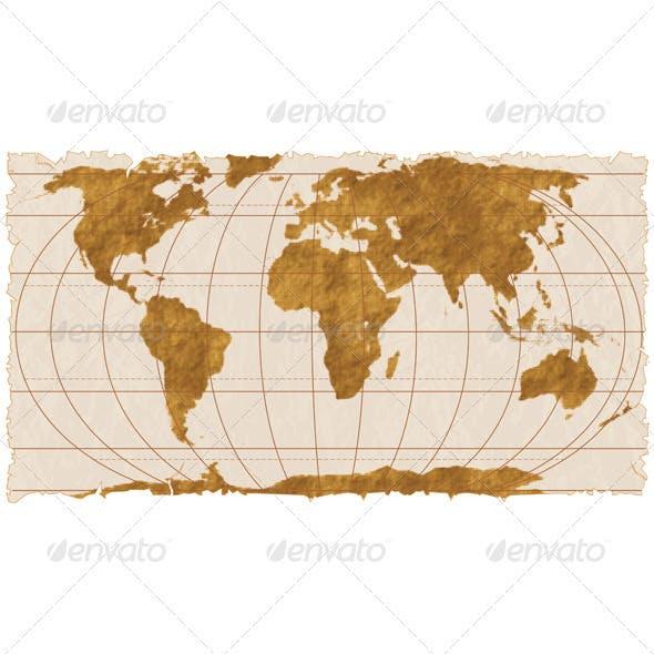 Ancient Paper Map