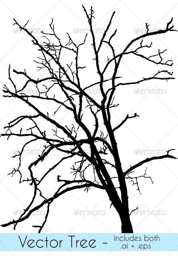 Vector Tree - Objects Vectors