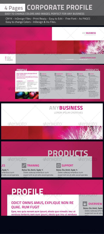 Professional Corporate Profile. - Corporate Brochures