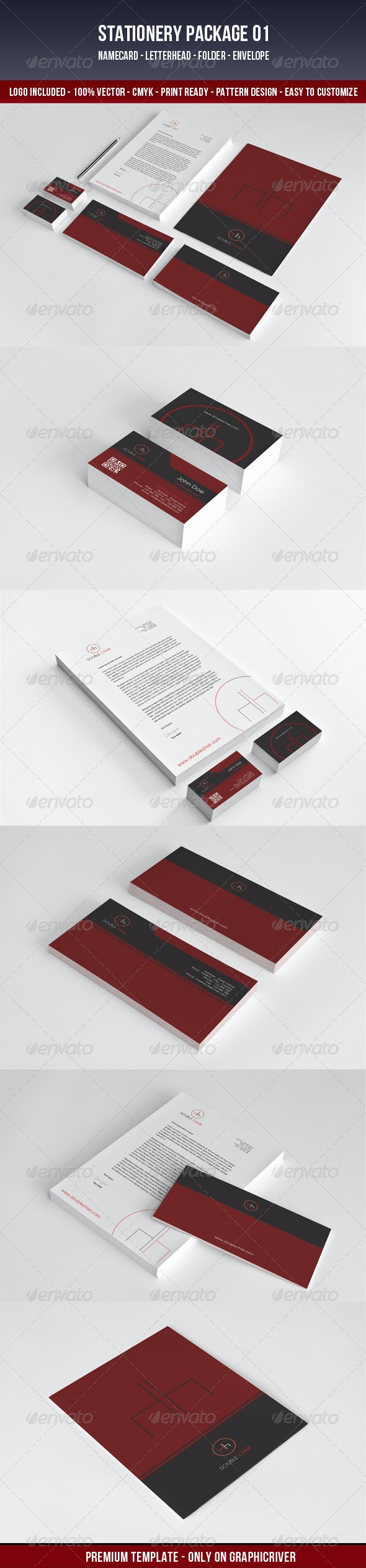 DoubleChair-Stationery - Stationery Print Templates