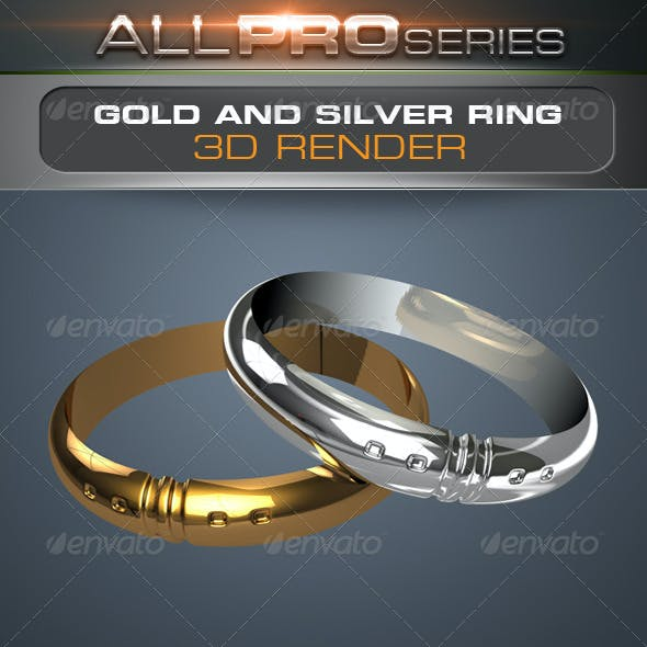 Gold & Silver Ring