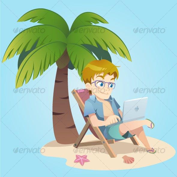 Vacation Blogger Guy